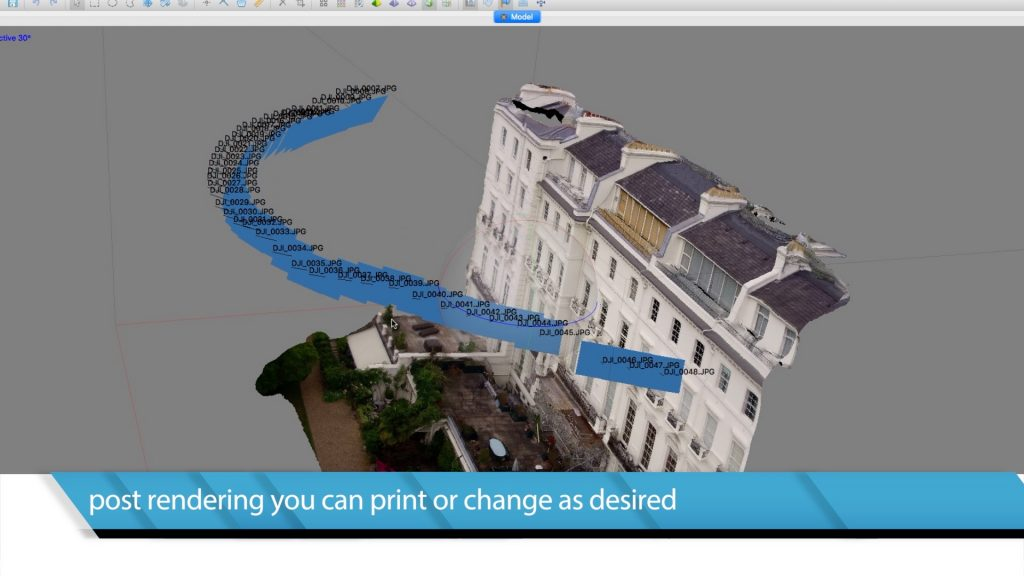 3D Point Clouds drone surveys