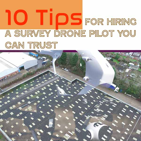 for hiring a survey drone pilot