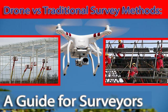 traditional drone survey vs drone